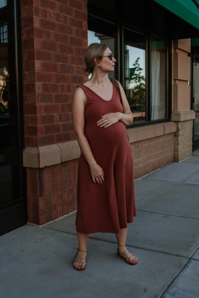 30 Days of Summer Style Day 23: Rust Colored Jumpsuit