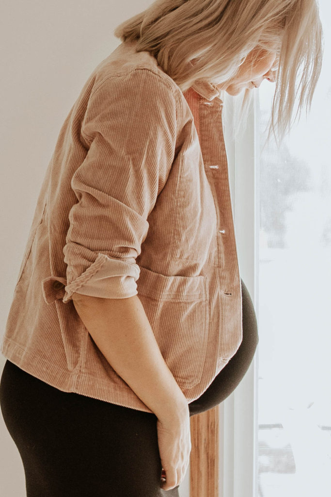 new in at everlane, corduroy jacket, fall corduroy, pink corduroy, pink jacket, blush jacket, chore jacket