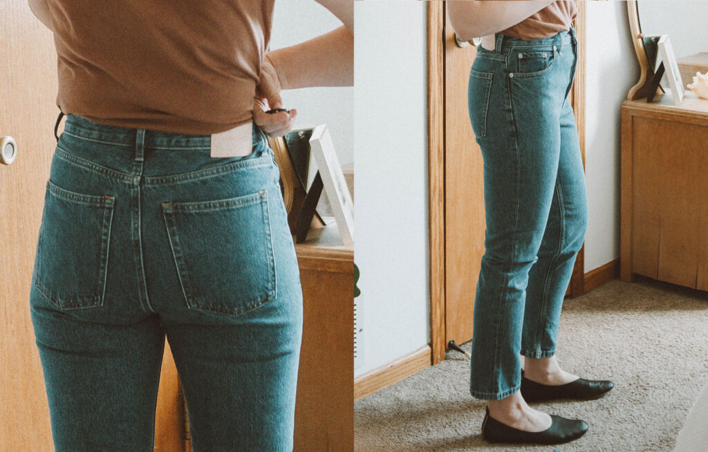 Everlane Denim Guide: Every Style Reviewed, 90's cheeky straight