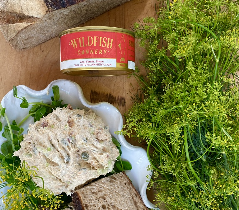 Recipe: Tinned Smoked Salmon and Caper Dip