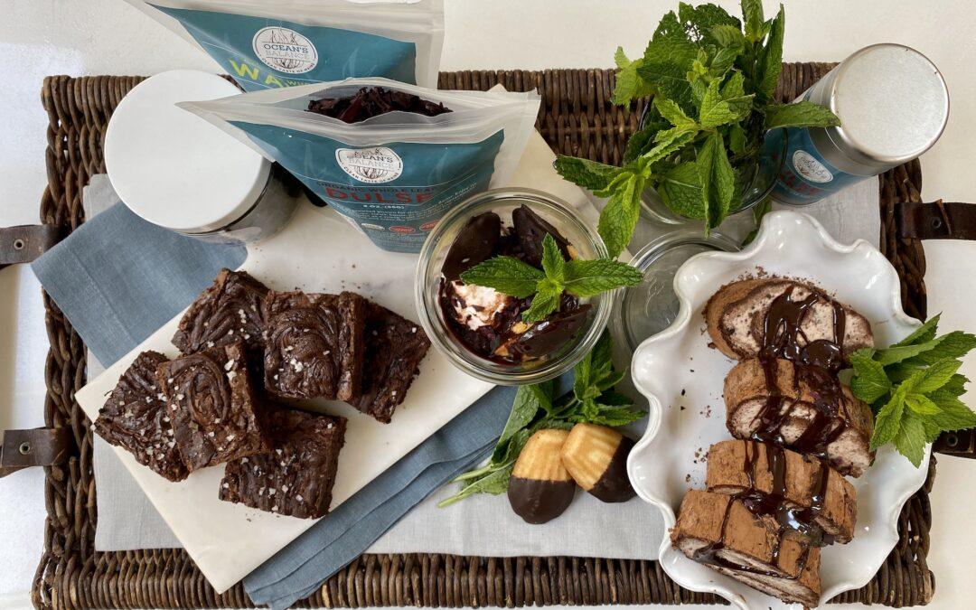 Recipe: Chocolate Ice Cream Roll Kelp Cake