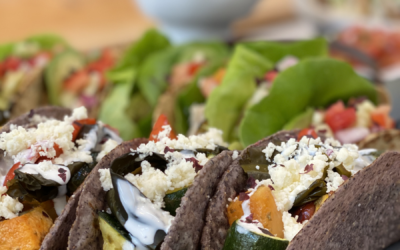Recipe: Roasted Vegetable & Seaweed Tacos