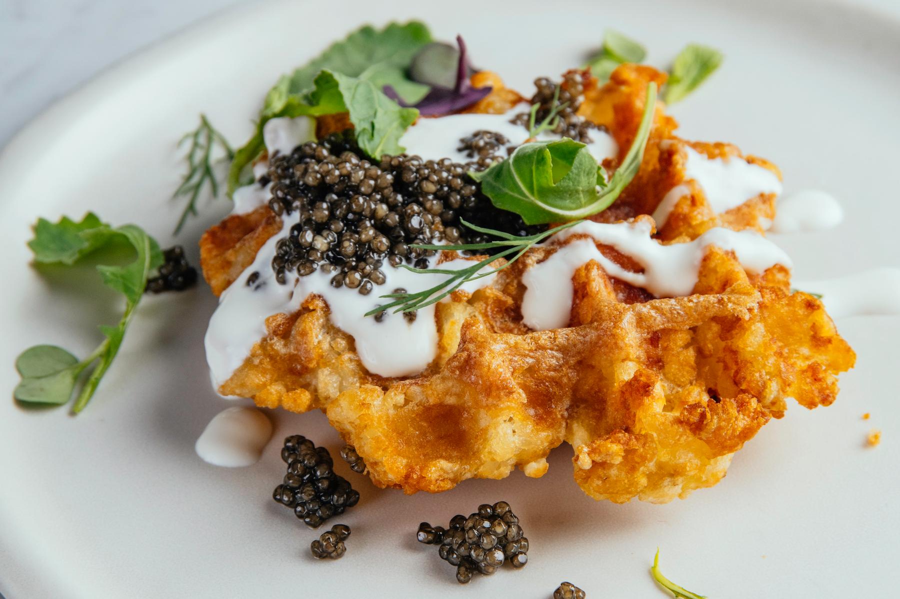 Waffles and Caviar