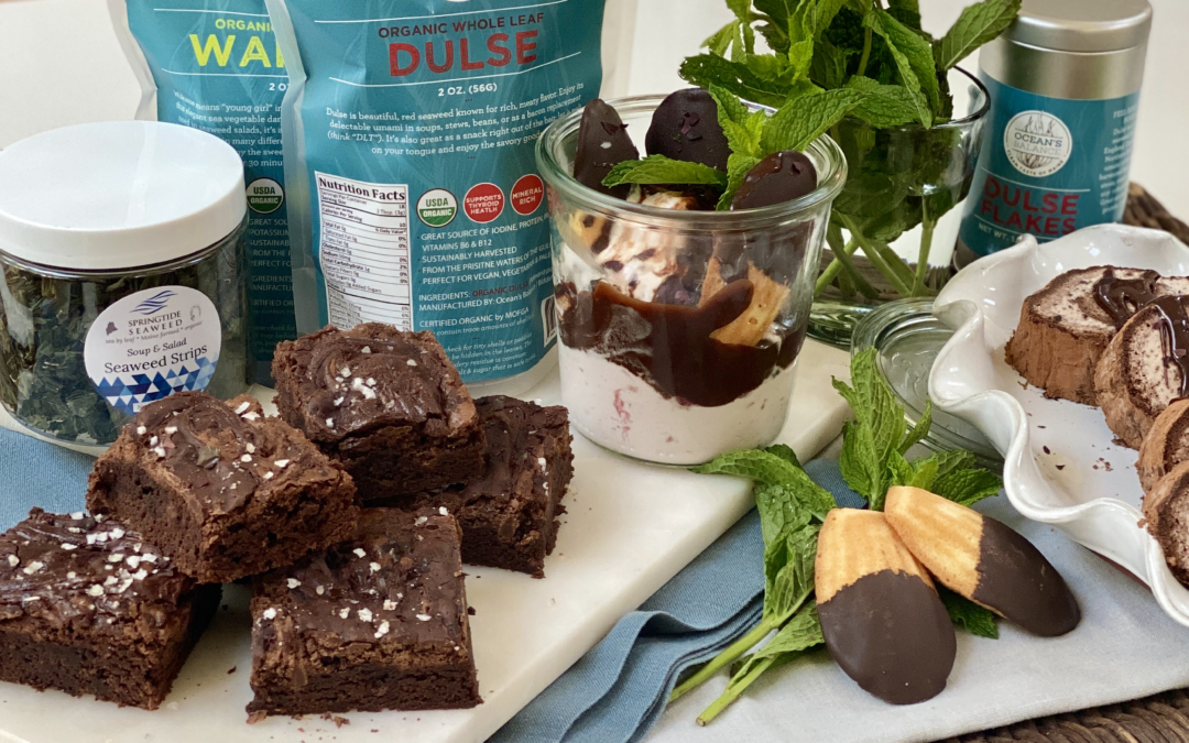 Recipe: Chocolate Chip Mousse Kelp Brownies
