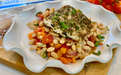Recipe: Provencal Style Cod with Cannellini Beans and Tomato