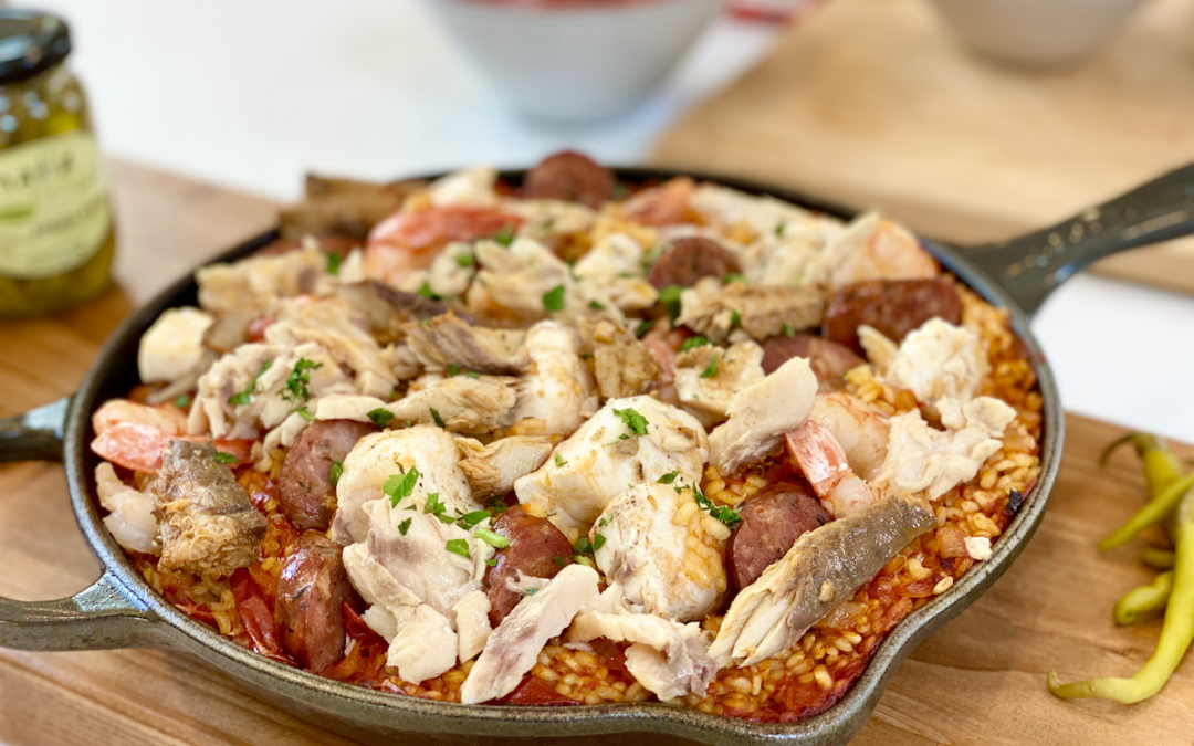Recipe: Traditional Spanish Paella with Tinned Seafood
