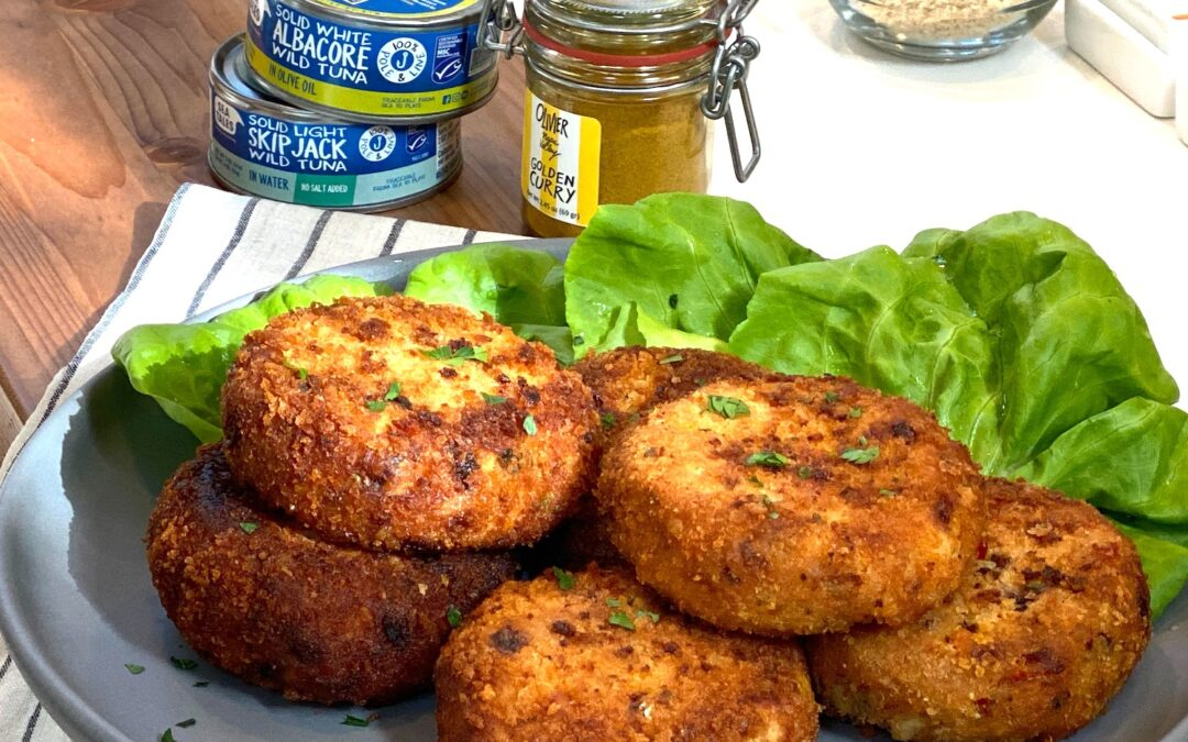 Recipe: Sea Tales Tuna Cakes with Curry Lime Mayonnaise