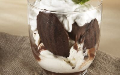 Recipe: Sea Kelp Madeleines with Vanilla Bean Ice Cream