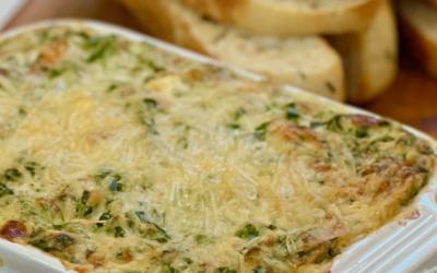 Recipe: Holiday Spinach & Crab Dip
