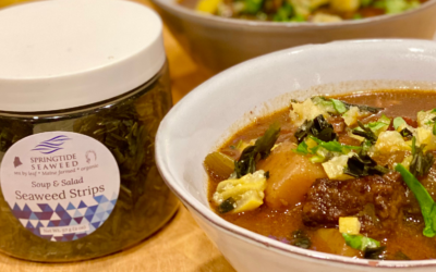 Recipe: Zinfandel Beef Stew with Seaweed Preserved Lemon Gremolata