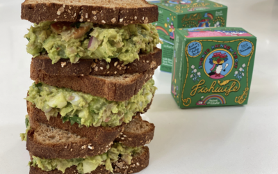 Recipe: Smoked Rainbow Trout & Avocado Sandwich