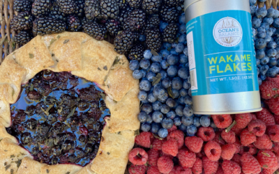 Recipe: Wakame Mixed Berry Galette