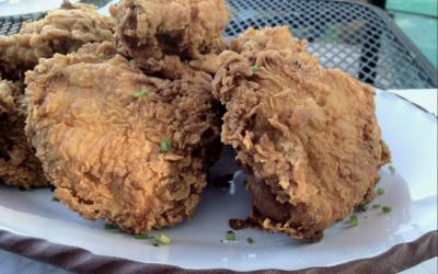 Recipe: Seaweed & Lemon Brined Fried Chicken