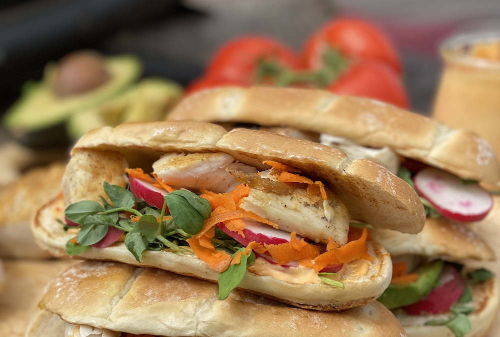 Recipe: Yellowtail Banh Mi Sandwiches