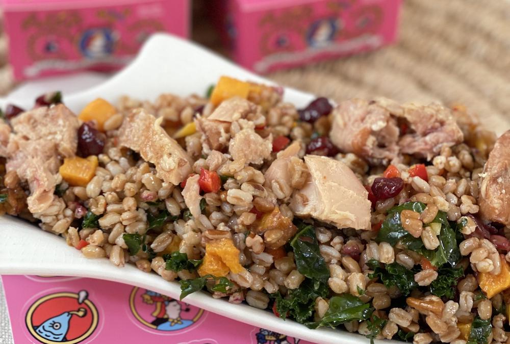 Smoked Albacore Tuna & Farro Salad