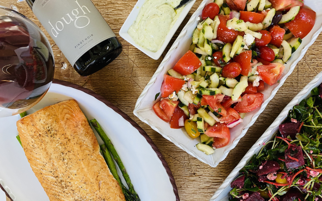 Recipe: Cedar Planked Salmon with Roasted Beet Salad