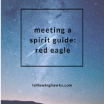 Meeting a Spirit Guide: Red Eagle