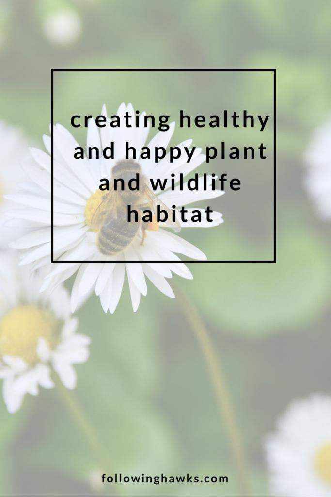 Plant & Wildlife Habitat | Permaculture | Gardening