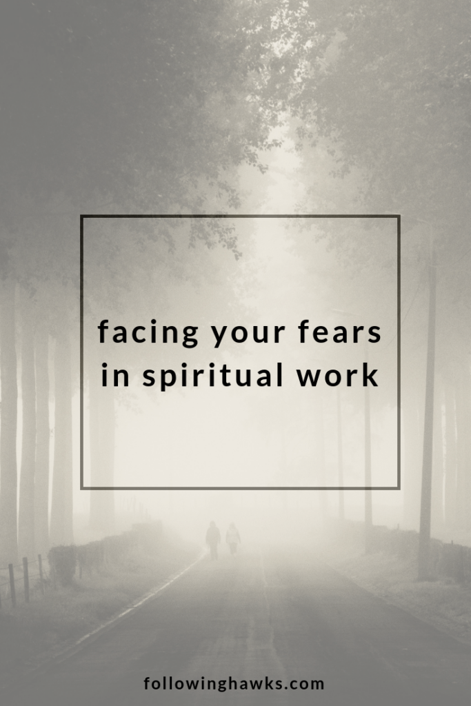 Fear is a very real issue for many people beginning their spiritual journey. But fear only brings more scary things to you. Click through to read my story about a dark spirit controlling a home and how we removed it.