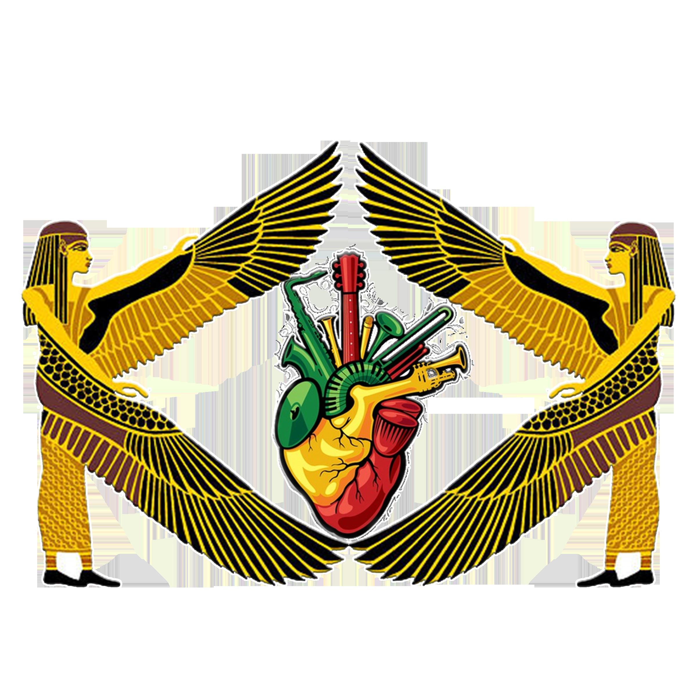 Ancient Egyptian Reggae Music Heart