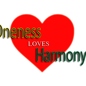 Oneness Loves Harmony SQ Banner Transparant