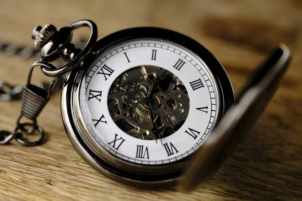 clock, pocket watch, movement