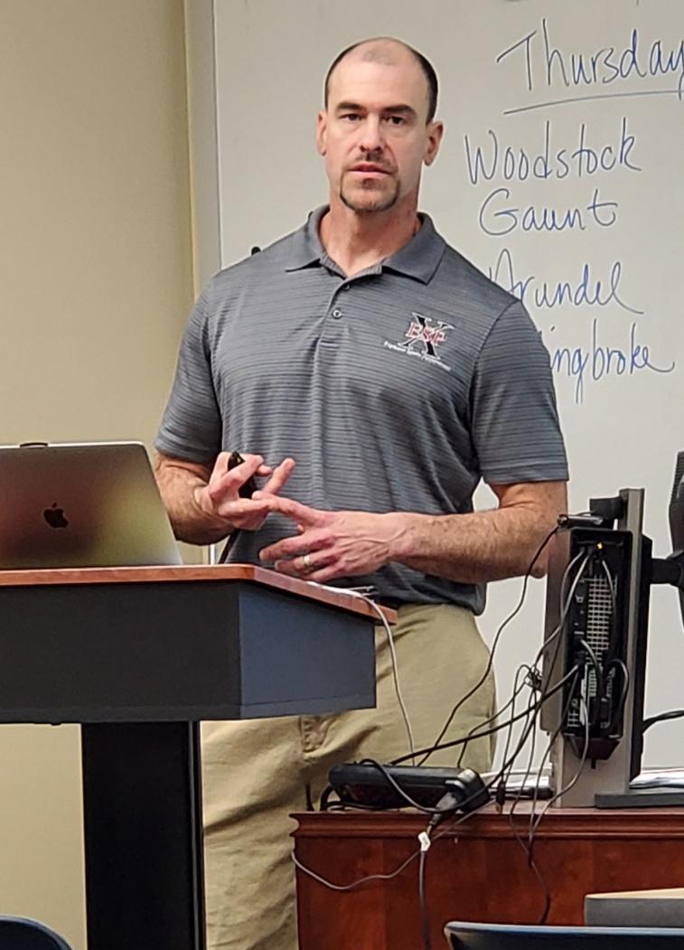 Coach Dave Brixius