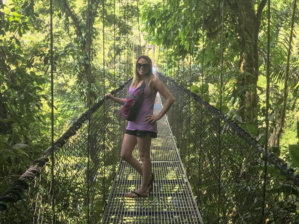 arenal hanging bridges  mistico arenal hanging brudges