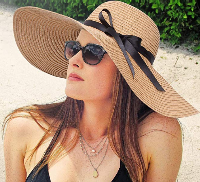womens beach hat
