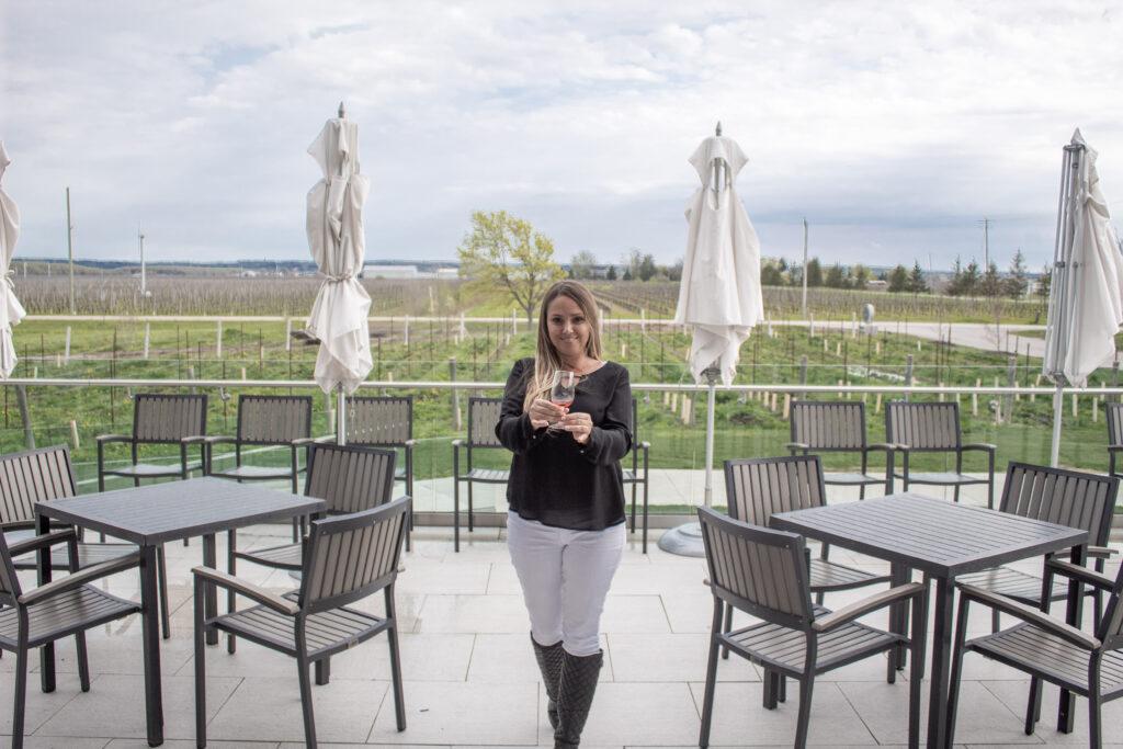 Andra Birkhimer, niagara on the lake wineries, wayne gretzky winery