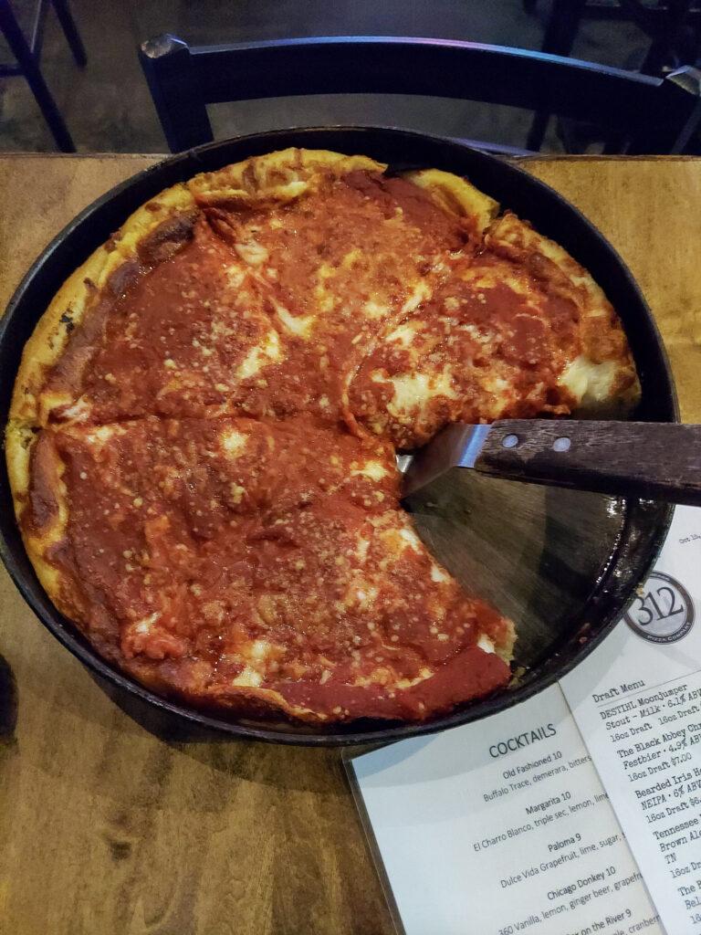 best pizza nashville.  chicago pizza nashville