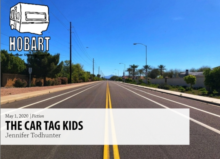 car tag kids | hobart | fiction