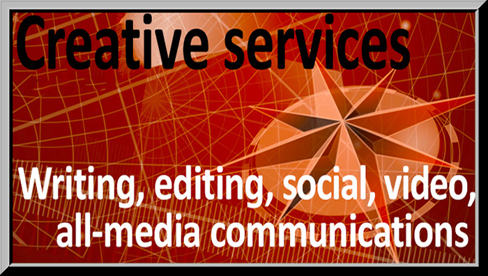 creative services; custom communications services