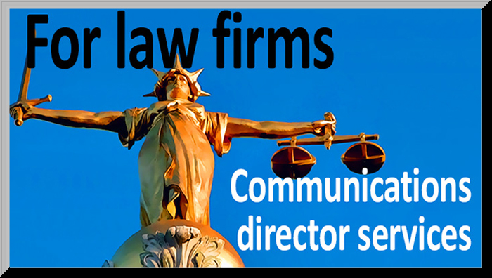 for law firms; communications services