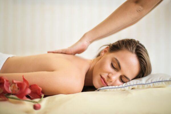 Lady having a Massage