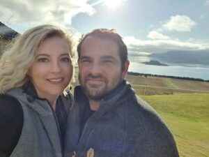 Laura and Adam selfie