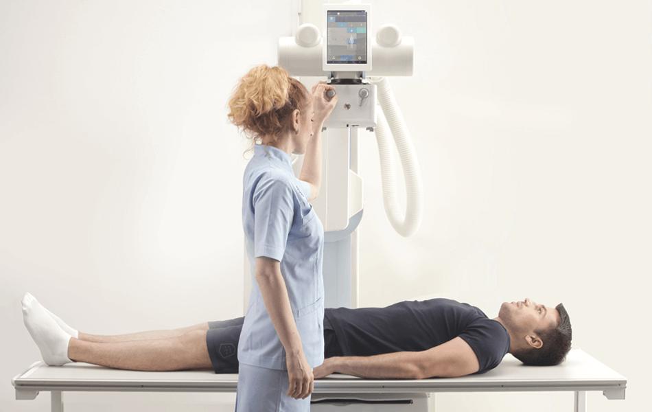 Efficient Digital X-ray Exams