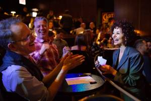 Jan Rose Entertaining at Chicago Magic Lounge