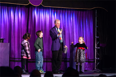 Danny on Performing Magic for Kids Stage