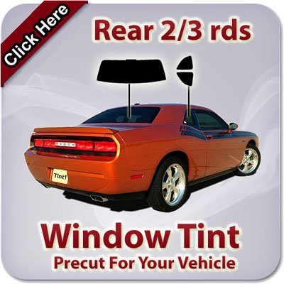 Rear 2/3 rds Window Tint