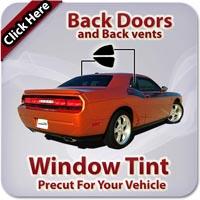 Back Doors Window Tint