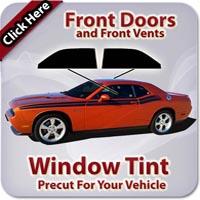 Front Doors Window Tint