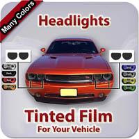 Headlights Tinted Film