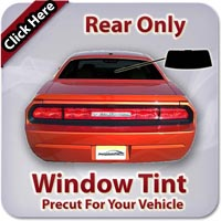 Rear Only Window Tint