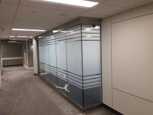 Frosted-Stripes-window-tinting-at-LDS-Hospital-300x225