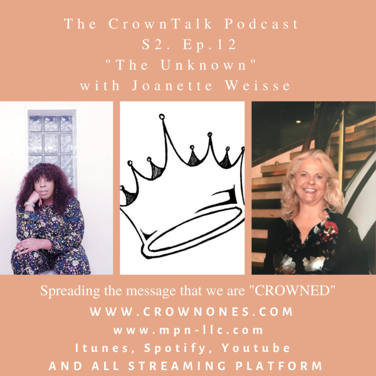 The Unknown … S2. E12 The CrownTalk Podcast.