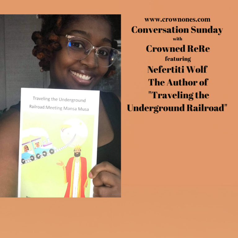 Conversation Sunday with Nefertiti Wolf The Author of Traveling The Underground Railroad