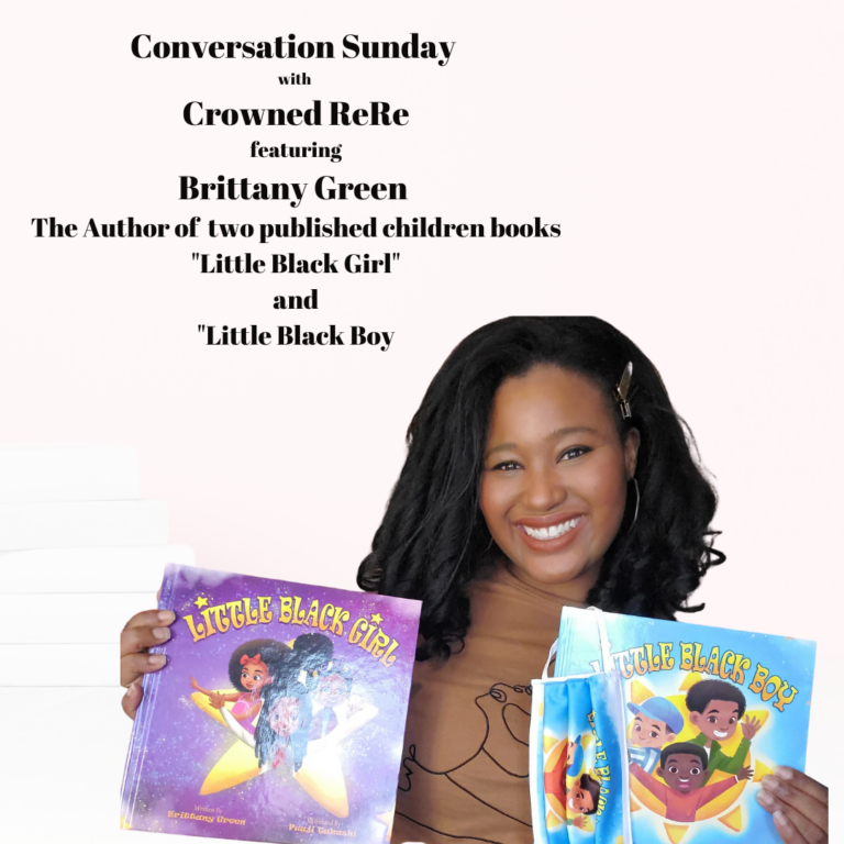 """Conversation Sunday with Brittany Green author of """"Little Brown Girl"""" and """"Little Brown Boy"""""""