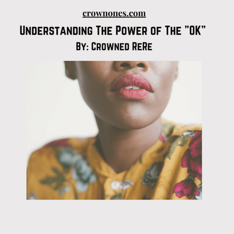 "Understanding The Power Of The ""OK"" … One Word, Two Letters"