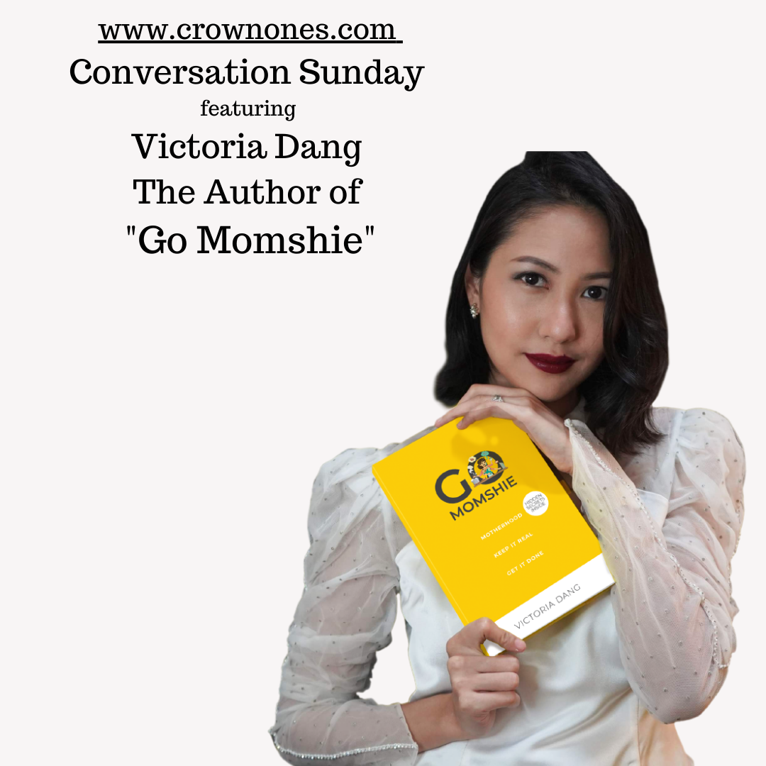 """Conversation Sunday ft. Victoria Dang, The Author of """"Go Momshie"""""""